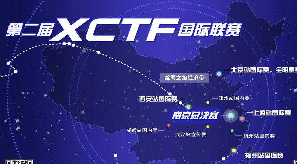 """2016年第二届""""XCTF""""国际网络安全技术对抗联赛"""