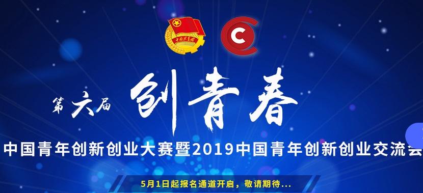 """2019年第六届""""创青春""""中国青年创新创业大赛"""